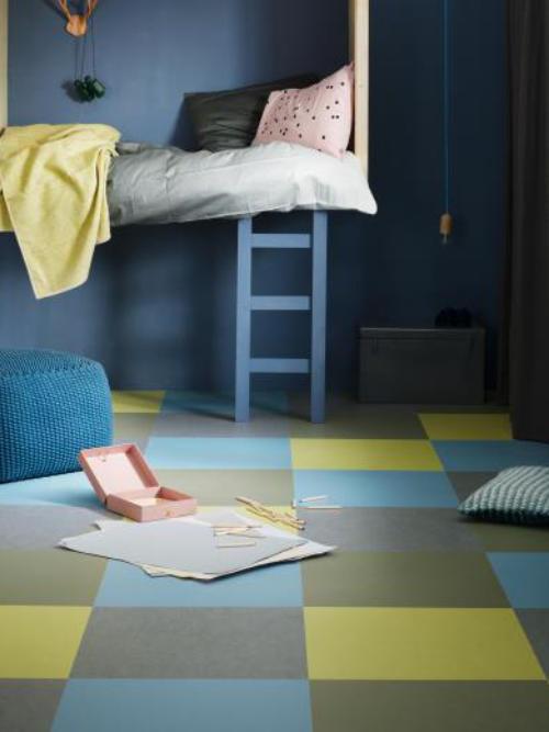 linoleum. Black Bedroom Furniture Sets. Home Design Ideas